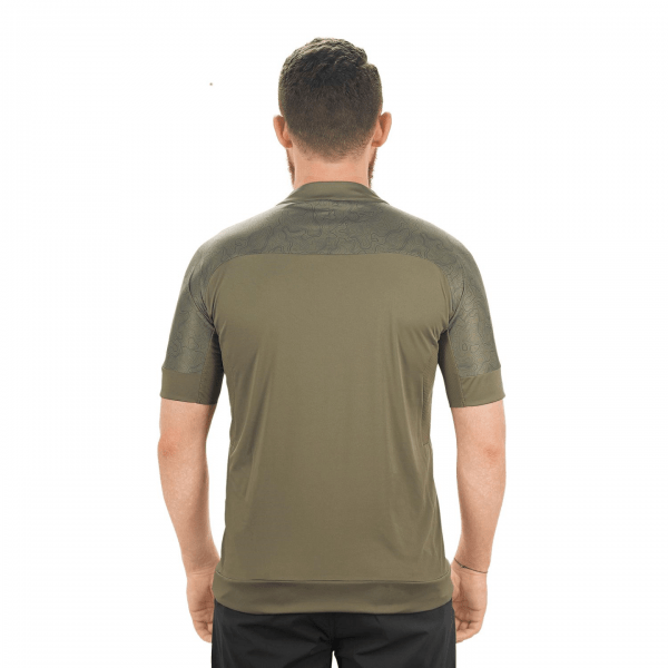 TRICOU CICLISM CUBE AM S/S Olive XS